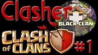 getlinkyoutube.com-Clash of Clans - ... Black Clan