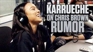 getlinkyoutube.com-Karrueche On Chris Brown Rumor + Talks Kissing Marques Houston
