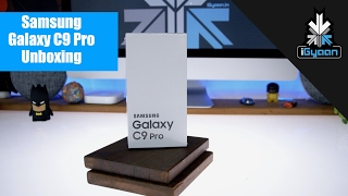 Samsung Galaxy C9 Pro Unboxing and Hands On