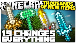 getlinkyoutube.com-Here's Why Minecraft 1.9 Changes EVERYTHING | THOUSANDS Of New Items (Minecraft 1.9 Facts)