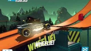 getlinkyoutube.com-HOT WHEELS RACE OFF iOS / Android Gameplay | Growler / Ratical Racer / Street Creeper / Shark Bite