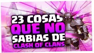 getlinkyoutube.com-23 Cosas que NO SABIAS de Clash of Clans