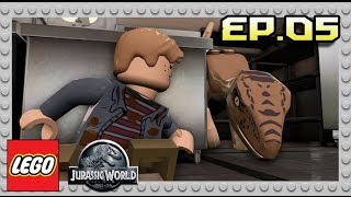 getlinkyoutube.com-LEGO Jurassic World : EP. 05 ปิดตำนาน Jurassic Park!