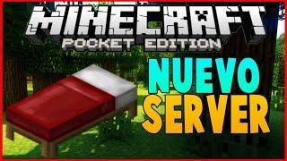 getlinkyoutube.com-NUEVO SERVER BED WARS PARA Minecraft Pocket Edition 0.15.3-0.16.0 (POCKET EDITION) LIFEBOAT!