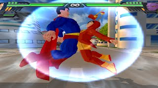 getlinkyoutube.com-Superman and Chapulin Colorado Fusion | Super Sam *Time is Money* vs Bills  DBZ Tenkaichi 3 (MOD)
