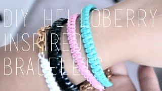 getlinkyoutube.com-DIY: Helloberry Inspired / Friendship Bracelets