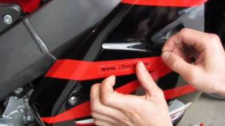 www.motoreplicals.ru How to paste a sticker on a motorcycle or vinyl