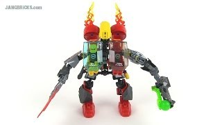 getlinkyoutube.com-LEGO Hero Factory COMBINATION: Furno Jet Machine + Evo Walker! 44018 + 44015