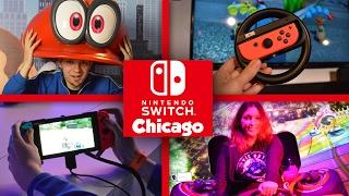 getlinkyoutube.com-Nintendo Switch Chicago Tour - Event Vlog With Abdallah! [2/17/17 - 2/19/17]