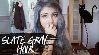 SLATE GRAY HAIR【 WELLA 050】