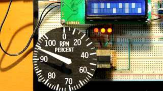 getlinkyoutube.com-Arduino and Aircore Gauge Success!
