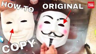 getlinkyoutube.com-#8: Copy A Mask With Paper Mache DIY | How To | Dali DIY
