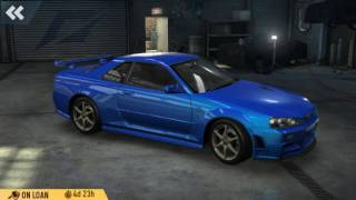 getlinkyoutube.com-Need For Speed No Limits: Nissan Skyline GT-R BNR34 Hacked/Modded Event