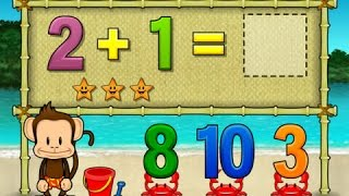 getlinkyoutube.com-Monkey Math School Sunshine | Fun Math App For Kids
