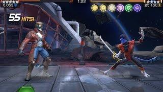 getlinkyoutube.com-Complete Alliance War Run and Nightcrawler Boss Battle | Marvel Contest of Champions