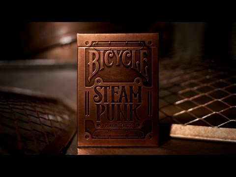 STEAMPUNK Playing Cards by theory11
