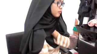 getlinkyoutube.com-Tutorial bawal crepe jadi shawl
