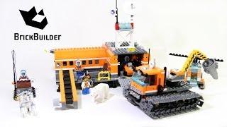 getlinkyoutube.com-Lego City 60036 Arctic Base Camp - Lego Speed Build
