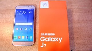getlinkyoutube.com-Samsung Galaxy J7 GOLD - Unboxing, Setup & First Look HD
