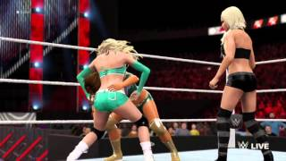 getlinkyoutube.com-WWE 2K16 Kelly Kelly vs Eve Torres vs Maryse Part 1