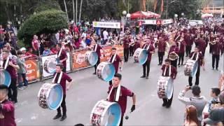 getlinkyoutube.com-Banda Vieja Metropoli, Desfile Santa Maria Dota 2016.
