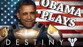 getlinkyoutube.com-Obama Plays More Destiny - GameSocietyPimps