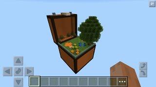 getlinkyoutube.com-Выживание в Сундуке (1-хорошее начало) Майнкрафт ПЕ 0.12.1/Minecraft PE 0.12.1
