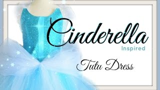 getlinkyoutube.com-Cinderella Tutu Dress - DIY
