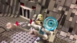 getlinkyoutube.com-Lego Star Wars Clone Base on Kashyyyk