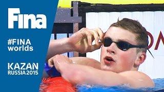 Adam Peaty Beats 50m Breaststroke World Record in Kazan