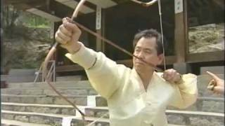 getlinkyoutube.com-Korean Archery (traditional) Aiming and Releasing