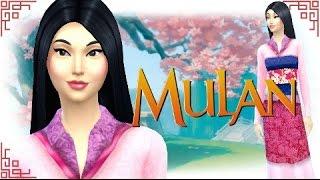 getlinkyoutube.com-The Sims 4: Create A Sim - Mulan (Disney Princess Series)