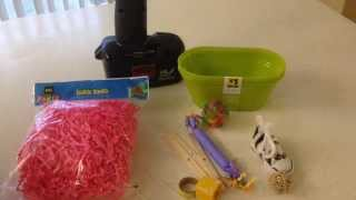 getlinkyoutube.com-Dollar Store: Foraging Parrot Toy
