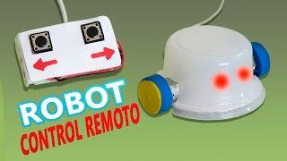 getlinkyoutube.com-Como Hacer un Robot Casero a Control Remoto  (Muy fácil de hacer )
