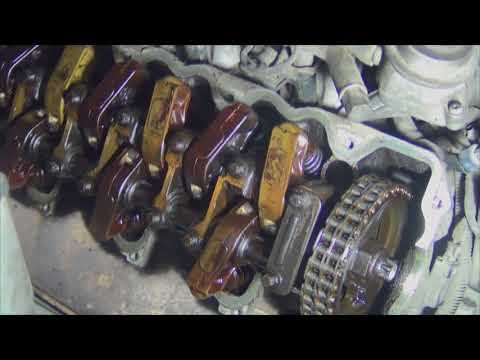 Mercedes M112 Как заменить маслосъемные колпачки на клапанах.
