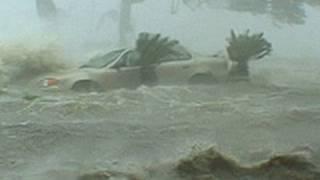 Hurricane Katrina Historic Storm Surge Video - Gulfport, Mississippi