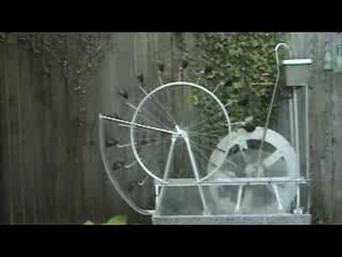 perpetual motion machine water