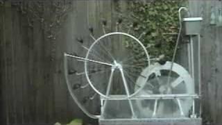 getlinkyoutube.com-Perpetual motion water wheel