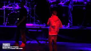 Drake & Justin Bieber Perform (I'm on one) at Power106 Cali Christmas 2011