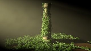 getlinkyoutube.com-Tutorial Cinema 4D : Ivy Grower Plugin