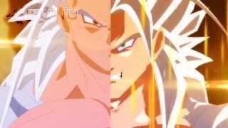 getlinkyoutube.com-Fused Evil Goku vs Super Saiyan 5 Vegeta (Dragon Ball EX)