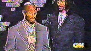 (09.04.1996) CNN - 2Pac's Safety