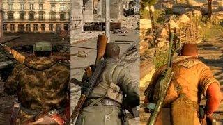 getlinkyoutube.com-Sniper Elite 1 vs 2 vs 3  | Evolución Grafica (Graphics Evolution)
