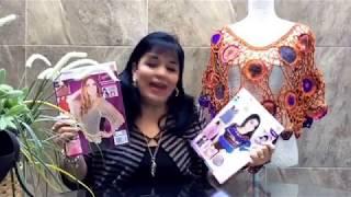 getlinkyoutube.com-TEJE CAPITA ERIKA - Crochet fácil y rápida - Yo Tejo con LAURA CEPEDA