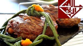 getlinkyoutube.com-ريش بقري مشوية  Grilled rib eye( Steak)