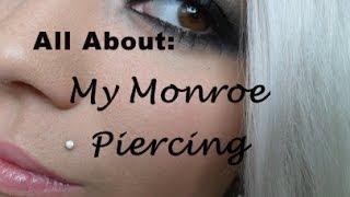getlinkyoutube.com-UPDATED: All About My Monroe Piercing.