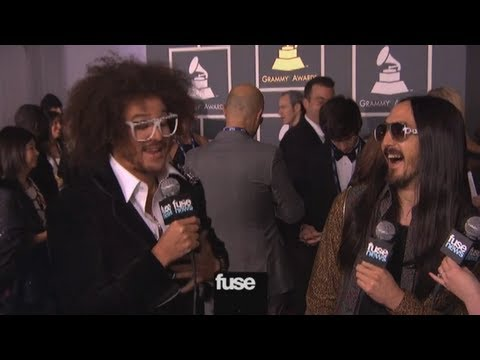 RedFoo Talks Future of LMFAO on Grammy Red Carpet - Grammy Awards 2013