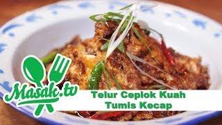 getlinkyoutube.com-Telur Ceplok Kuah Tumis Kecap - Sweet Soy Sauce Stir Eggs Recipe Feat Ayu Mayshita