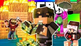 getlinkyoutube.com-Minecraft Do Not Laugh | RICH GUYS SHOULDN'T GO CAMPING