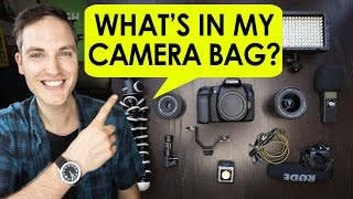 getlinkyoutube.com-What's in My Camera Bag for #CES2017